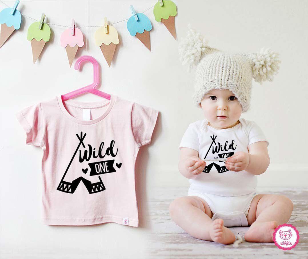 Birthday Shirt Baby 1 Year Wild One Pink Birthday Shirts For