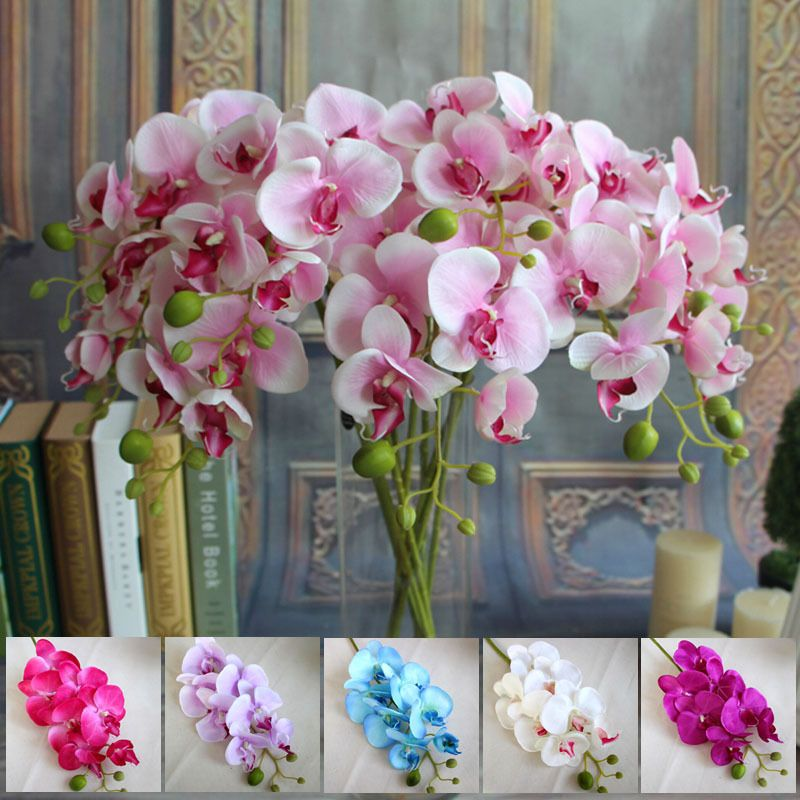 Cheap decorating flower pots for kids buy quality flower girl cheap artificial butterfly orchid buy quality butterfly orchid directly from china decoratives silk flower suppliers artificial butterfly orchids mightylinksfo