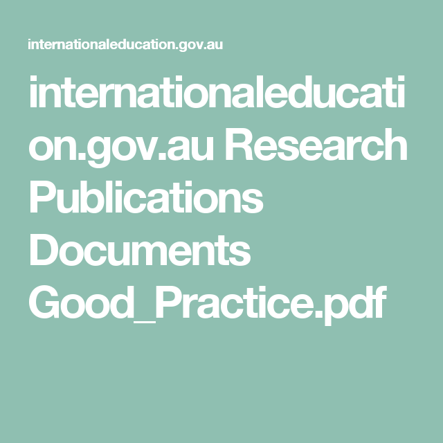 Text by Australian Department of Education, Employment and