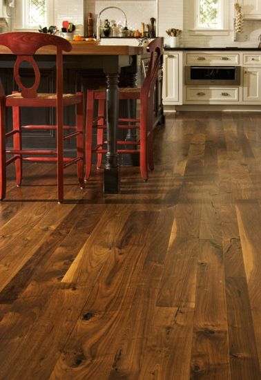 Walnut Hardwood Flooring Carlisle Wide Plank Floors Wood Floors Wide Plank Walnut Wood Kitchen Walnut Floors