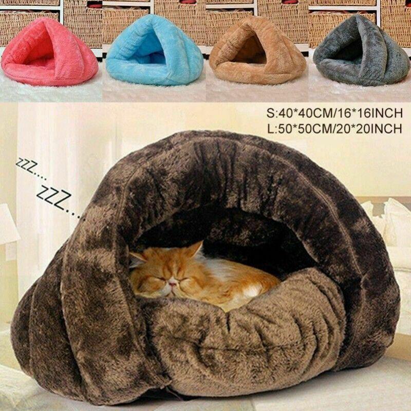 Gato Mascota Casa De Perro Perrera Cama De Dormir Soft Mat Pad Invierno Calentar Mascotas Ideas Of Mas Productos Para Mascotas Gato Durmiendo Cama De Gato