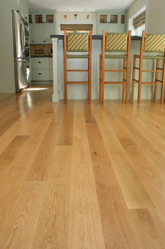 The homeowners chose a clear waterbased Arboritec finish for