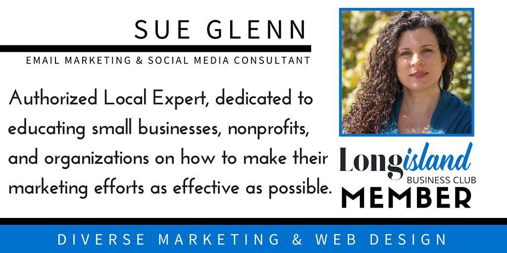 Sue Glenn Diverse Marketing Web Design Http Www Longislandbusinessclub Com United States Setauket East Setau Web Marketing Web Design Marketing