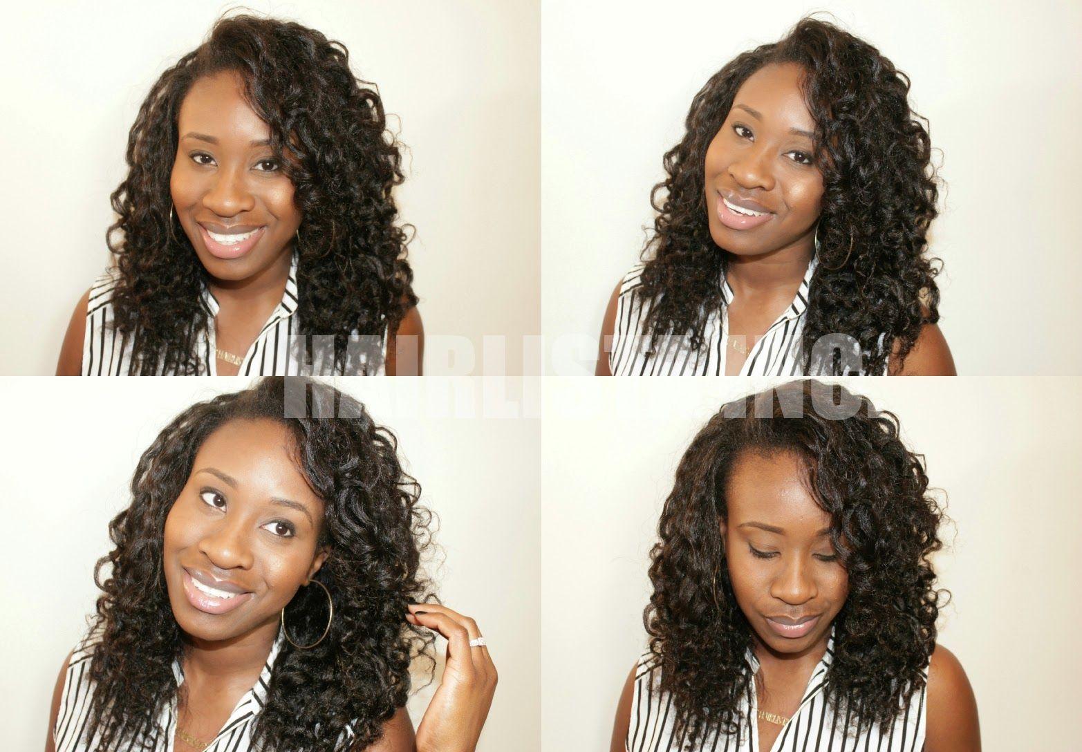twist- relaxed hair