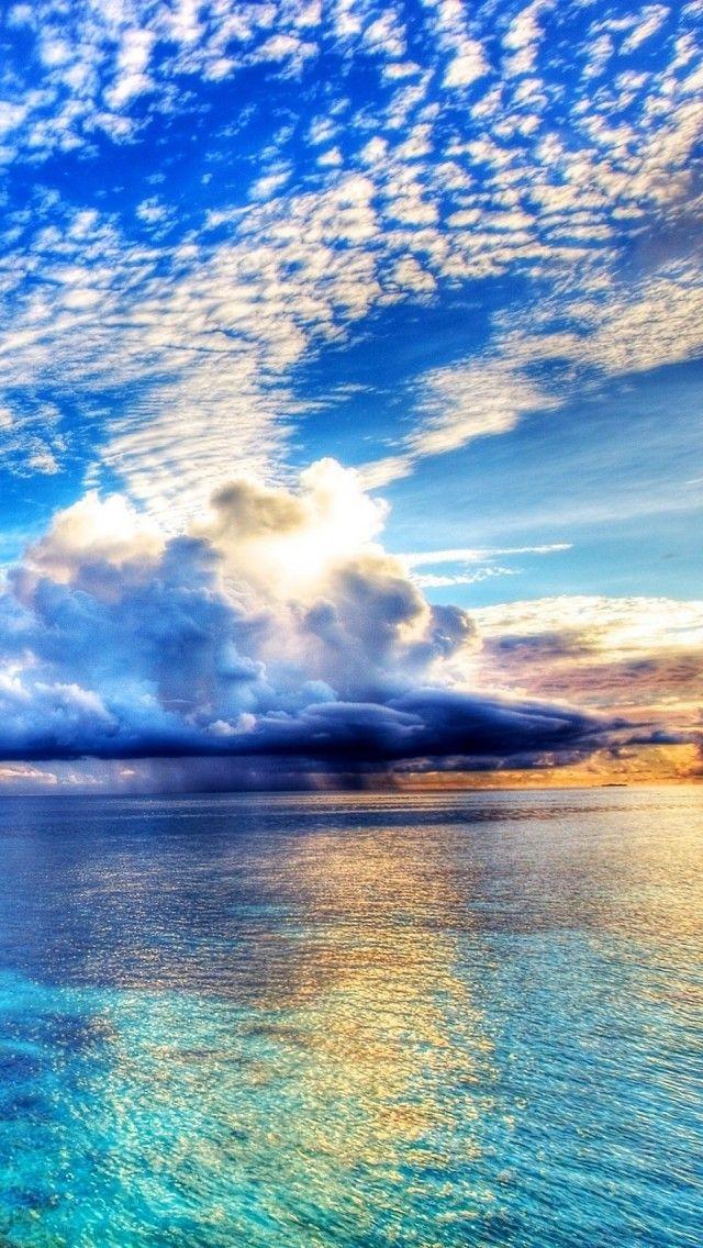 Sea, Rain, Wa… iPhone5 Wallpaper Gallery スマホ壁紙, 壁紙の背景