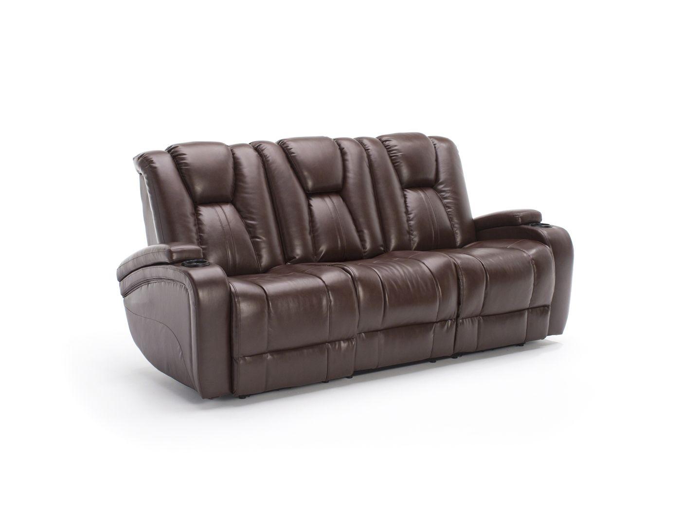 Thomas Cole Transformer Ii Brown Power Recline Sofa