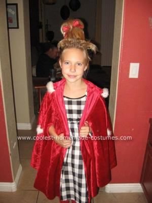 Homemade Cindy Lou Who Costume My Daughter Had Been Wanting To Be