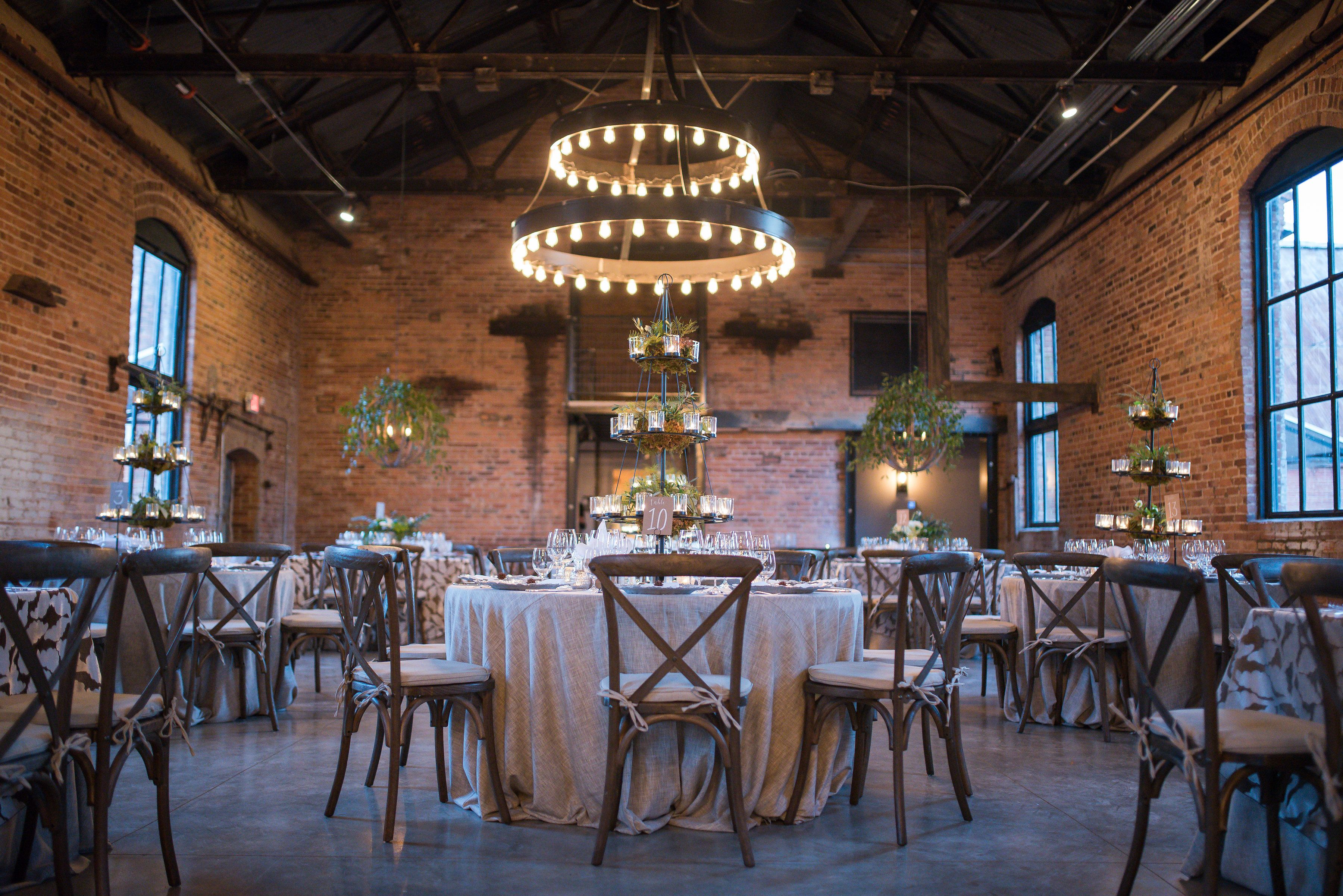 Industrial wedding venue located in madison ga photo by