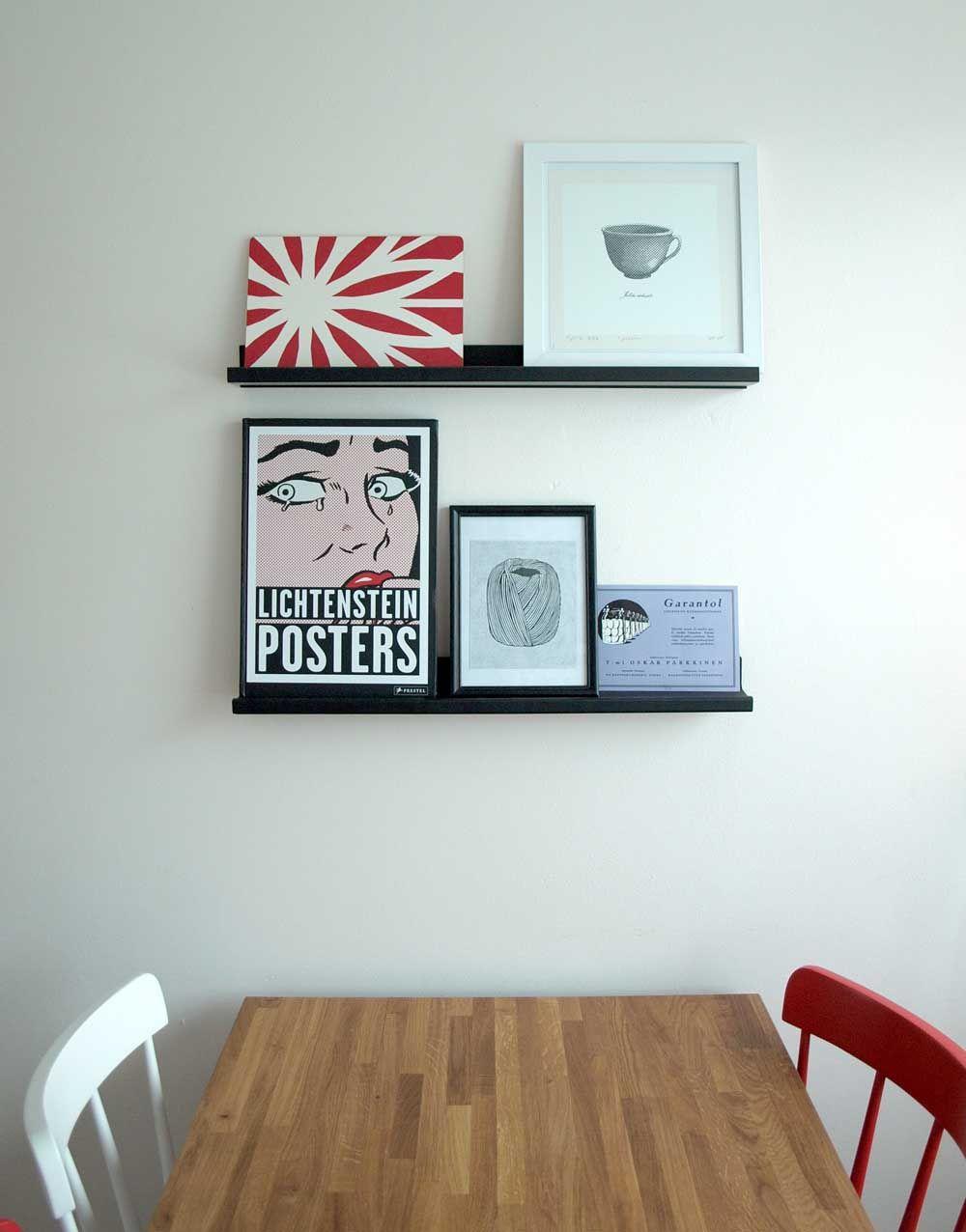 Roy Lichtenstein in the kitchen.