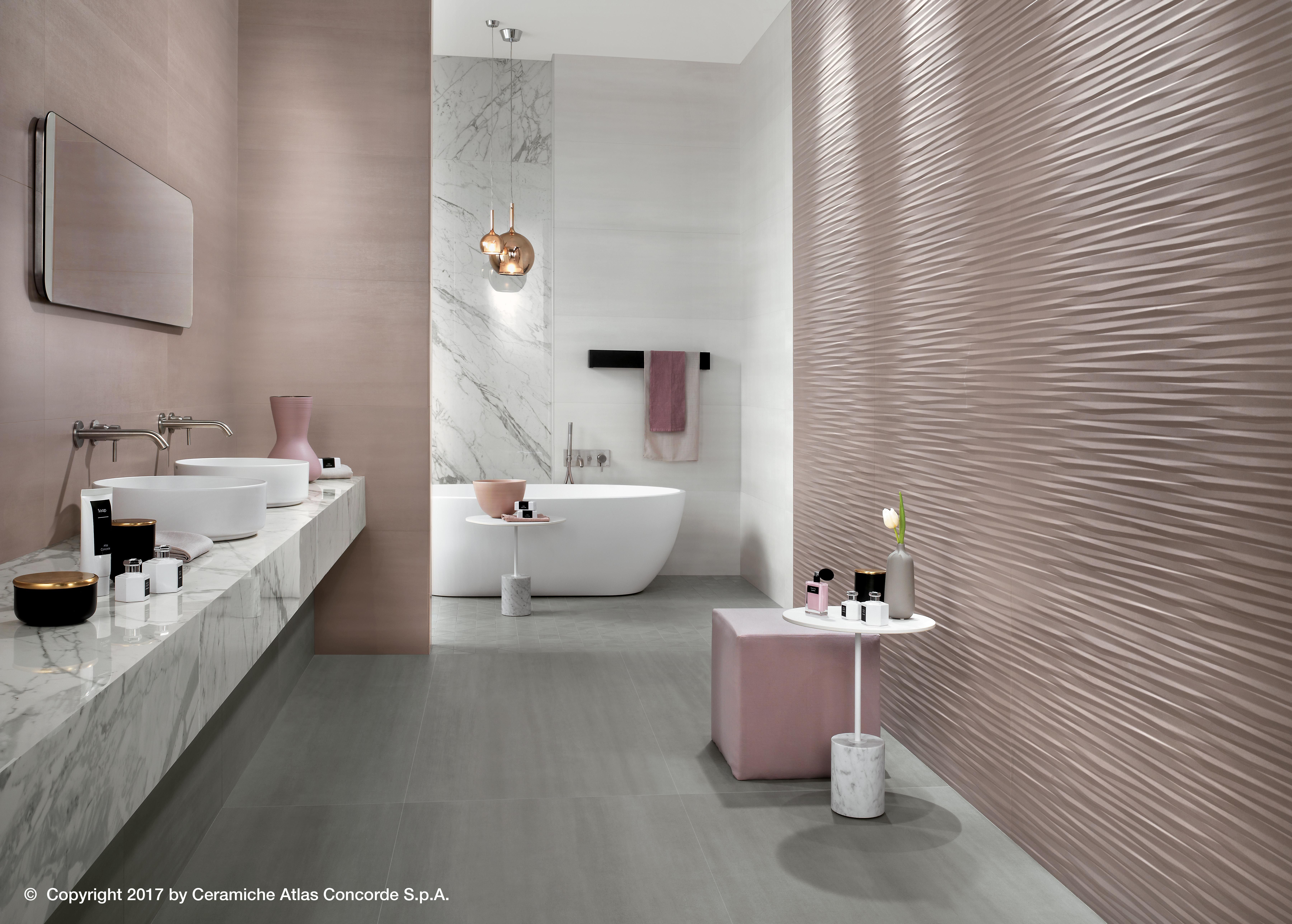 Atlas Concorde Porcelain Tiles And Ceramic Tiles Restroom