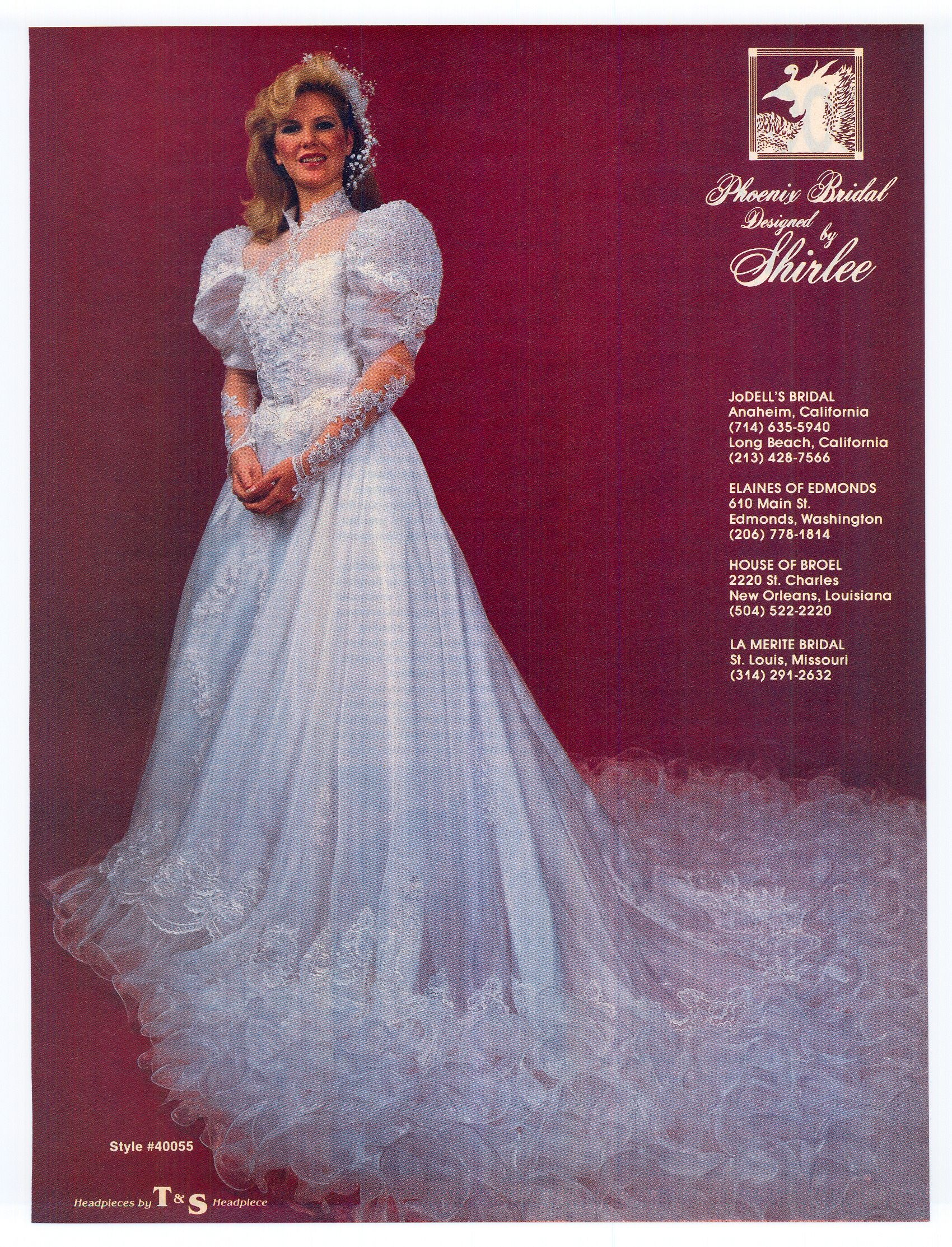 1985 Aug Sept Brides 30 Years Later And I Would Wear This Gown Still Someone Else Wrot Detachable Train Wedding Dress 1980s Wedding Dress Wedding Dresses 80s [ 2226 x 1700 Pixel ]
