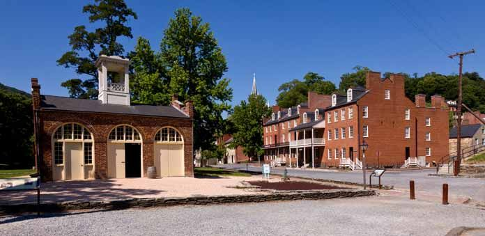 Harpers Ferry Lower Town