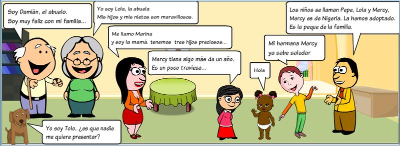 historietas con el verbo ser - Buscar con Google
