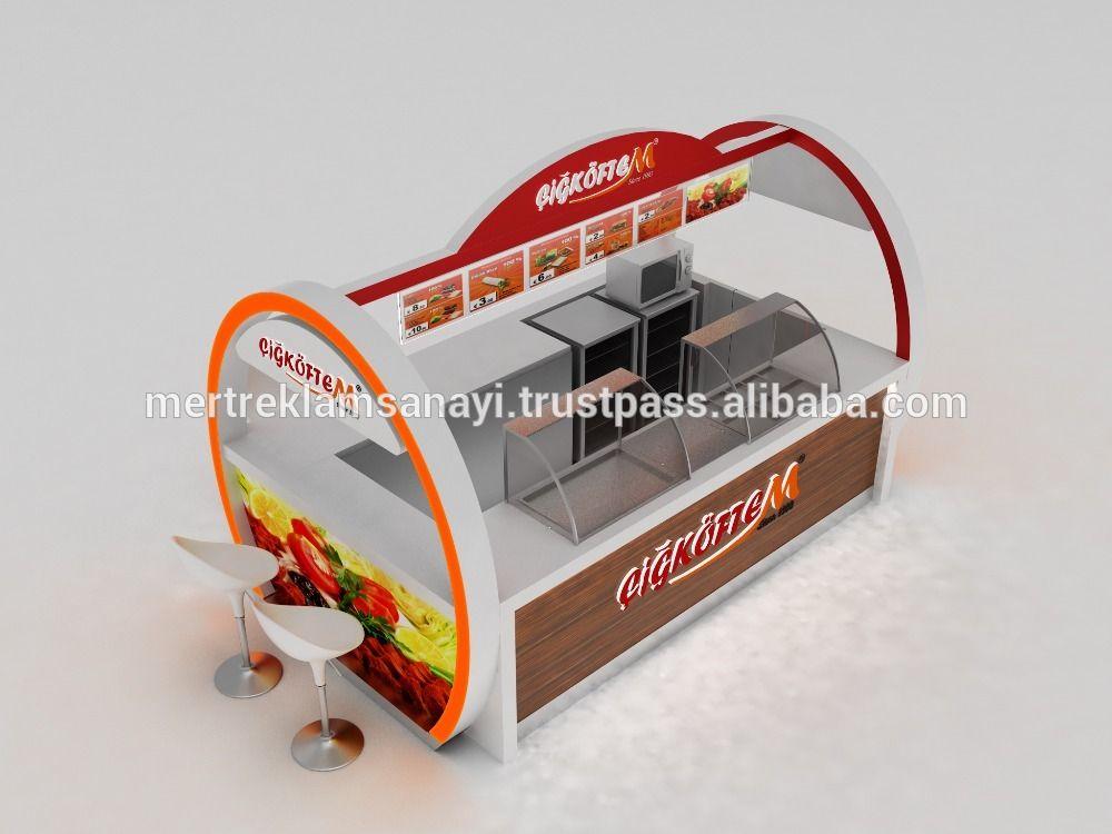 Cigkoeftem indoor kiosk cigkoeftem mall kiosk shop in for Indoor food kiosk design