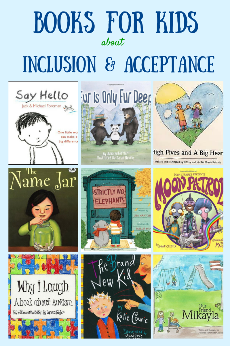 books for kids about inclusion and acceptance acceptance autism