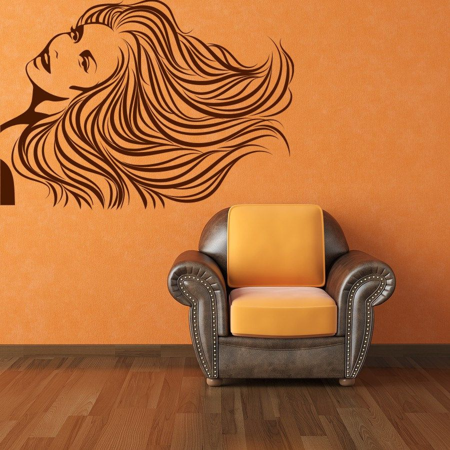 Painting walls ideas wall decals - Woman Vinyl Wall Art Decal Sticker