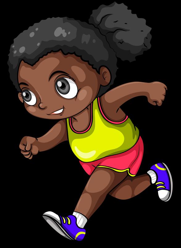 Niña Corriendo Dibujos Mandalas Y Más Niño Corriendo Niños
