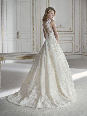 Parvati Ballgown Wedding Dresses Pronovias Wedding Dress
