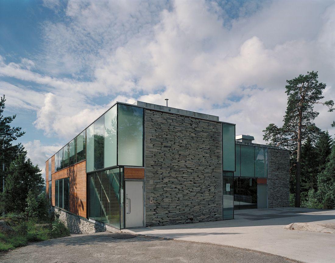 Mortensrud church jensen skodvin architects churches for Exterior facade design