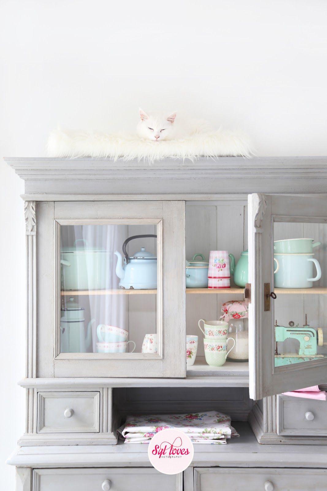 Syl loves, kitchen, vintage, mr.Blue, GreenGate | Kitchen ...