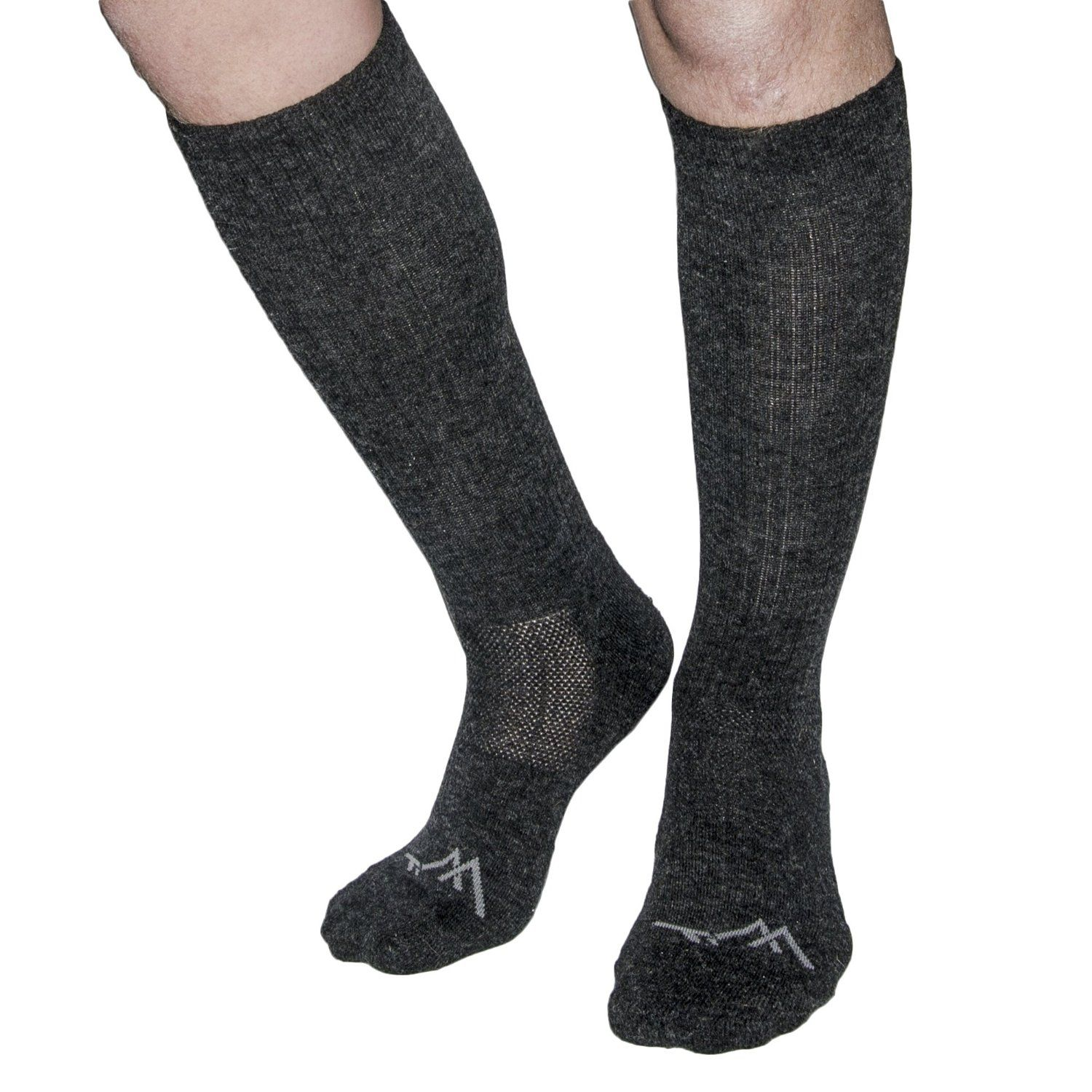 Amazon.com : ThrillTrek Merino Wool Graduated Compression Socks: Premium Medical Grade Knee-High Performance Stockings For Men & Women. Pain Relief From Hiking, Boots, Air Travel, Plantar Fasciitis, & More! : Sports & Outdoors