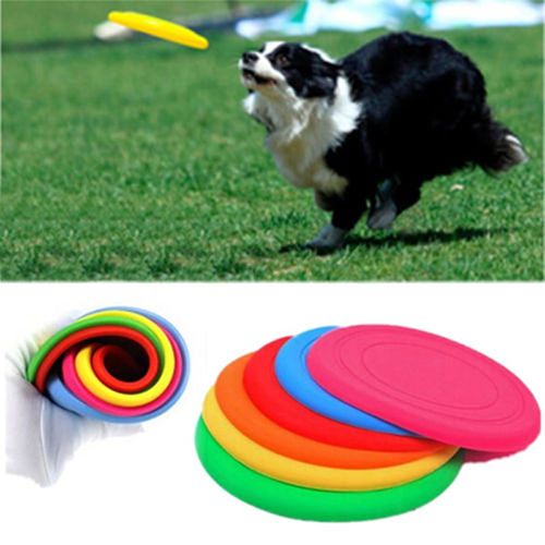 Dog Frisbee Flying Disc Tooth Resistant Outdoor Large Training