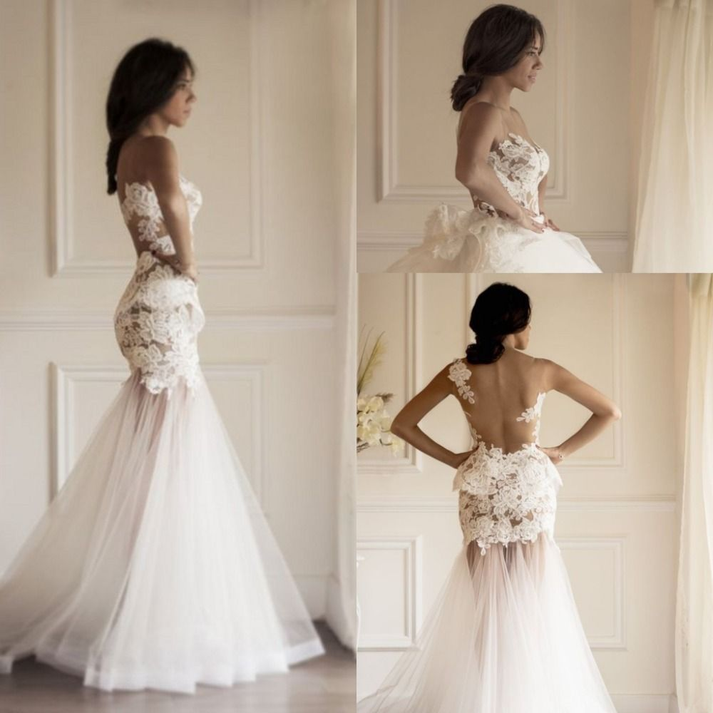 Detachable skirt wedding dress  Cheap Wedding Dresses Buy Directly from China Suppliers Elegant