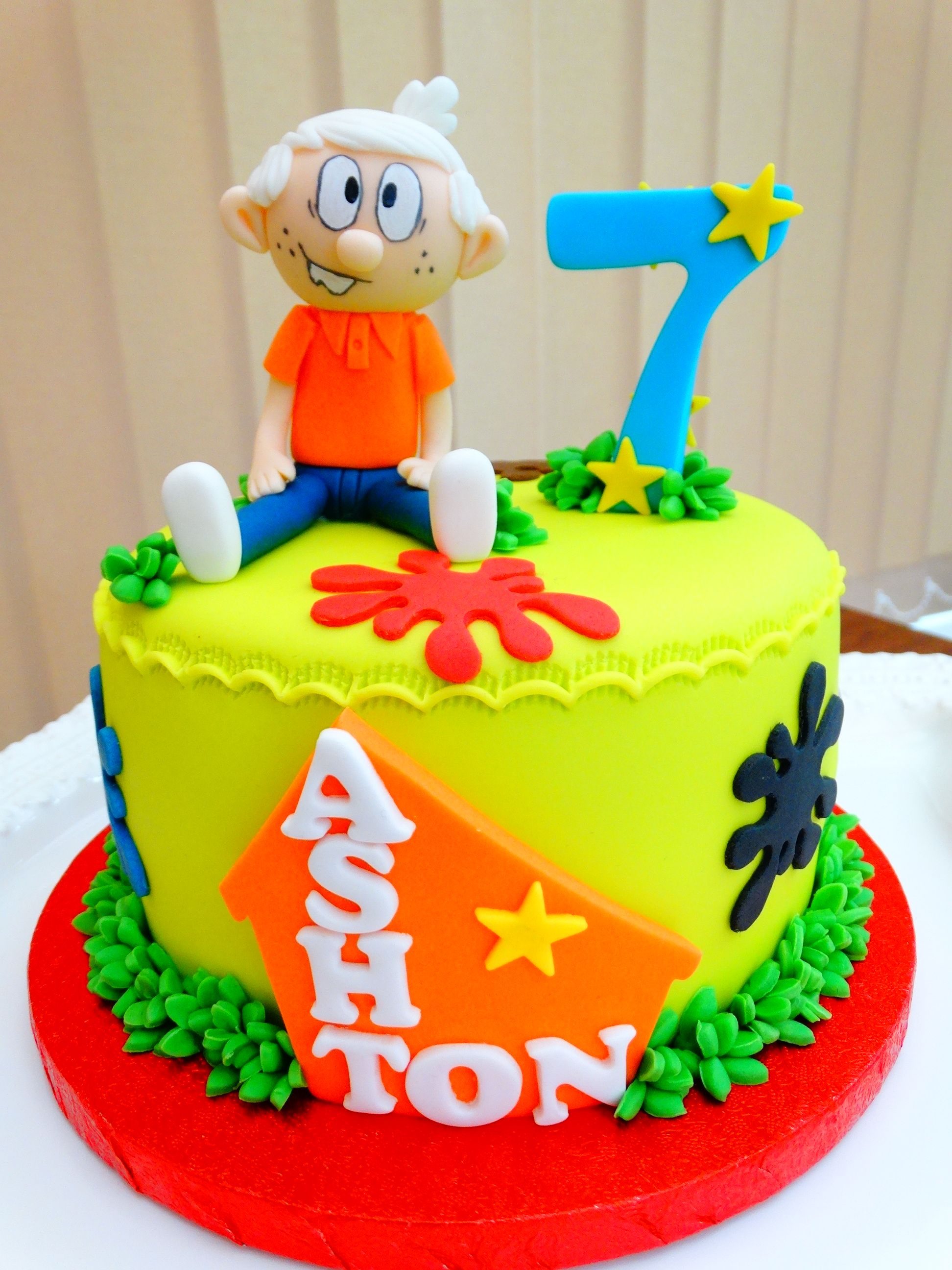Lincoln From The Loud House Cake Xmcx