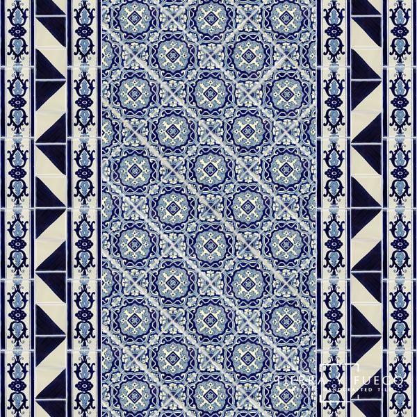 Portici 1 Terra Nova Hacienda Ceramic Tile Decorative Ceramic Tile Hacienda Decor Ceramic Tiles