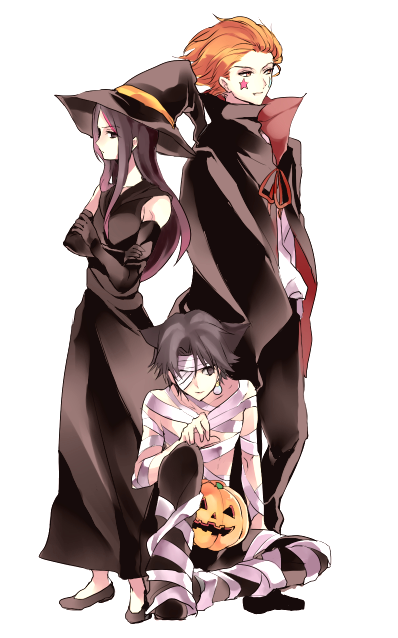 Illumi, Chrollo and Hisoka - Hunter x Hunter Special Halloween