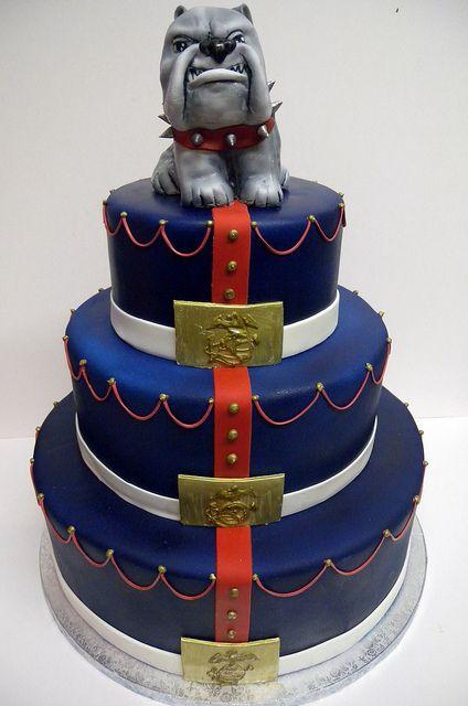 Marines Cake Birthday Cakes For Adults Marine Cake