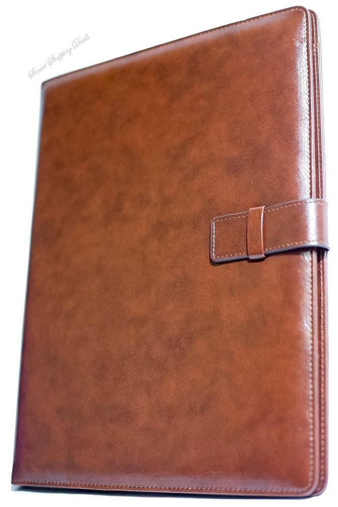 Professional Leather Business Resume Portfolio Folder Padfolio