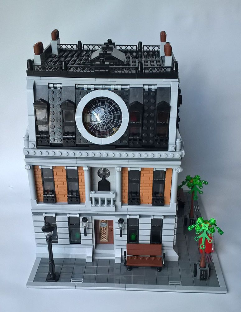 Doctor Strange's 177A Bleecker St Sanctum Sanctorum Custom Lego