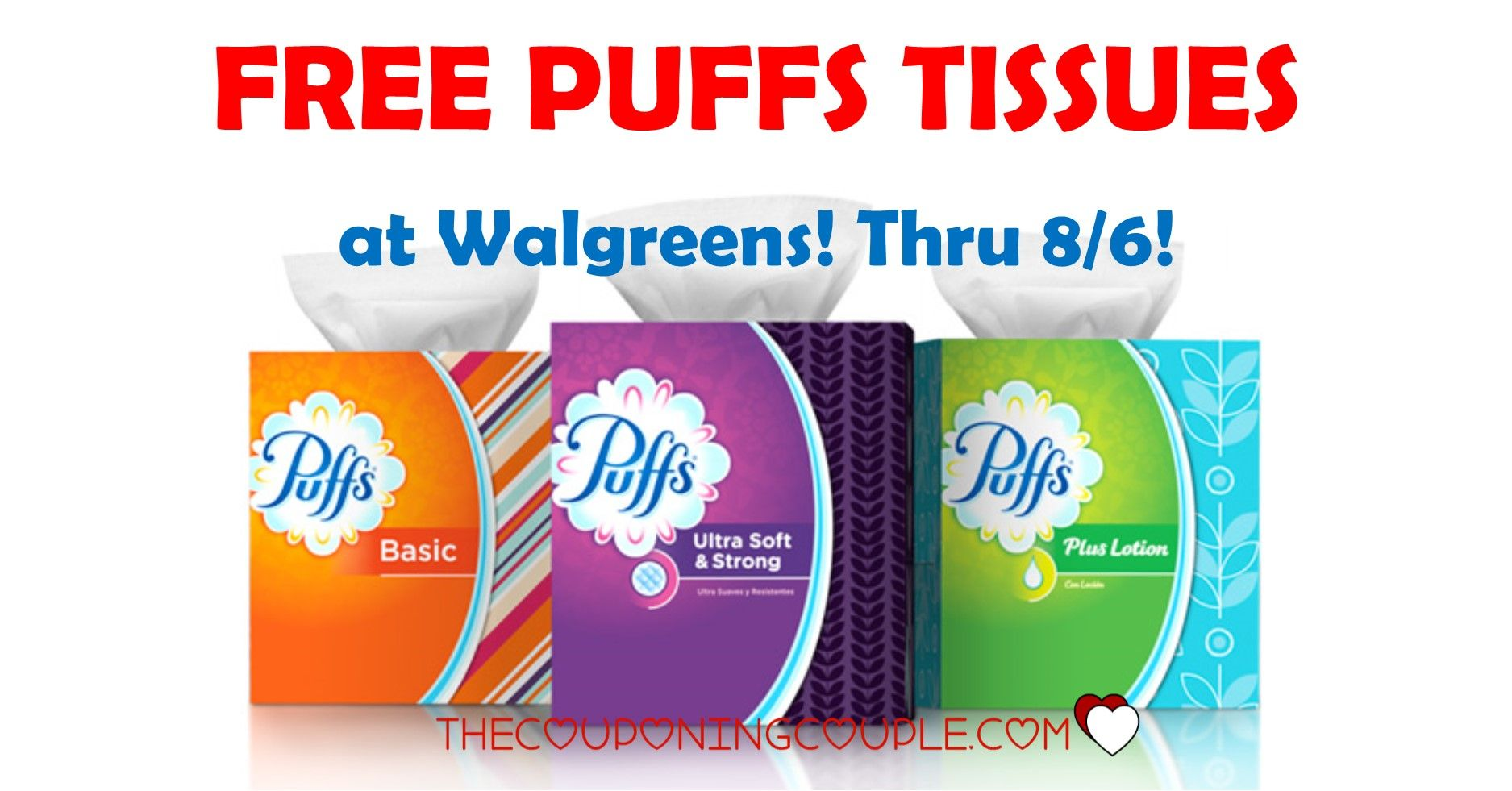 Puffs Facial Tissues Walgreens For 0 99 Puffs Tissue Printable Coupons Free Printable Coupons