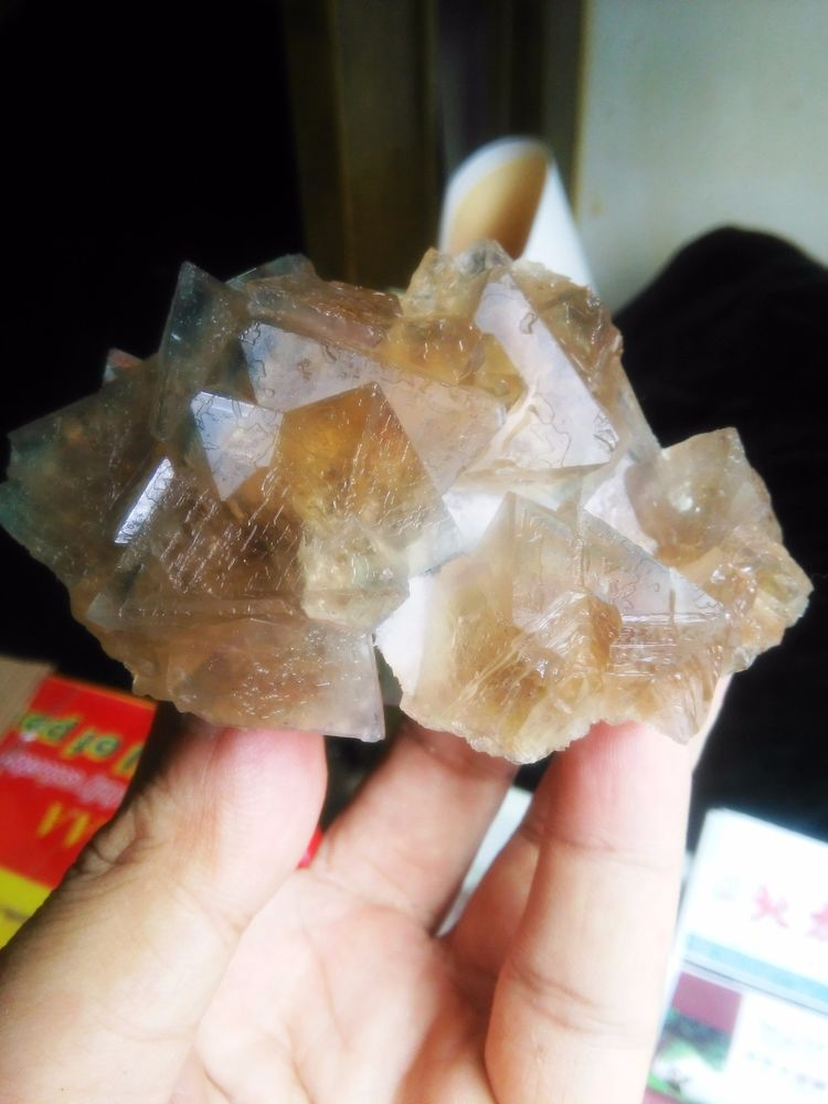 New Find rare Brown fluorite from Inner Mongolia China