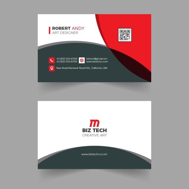 Creative Vector Business Card Design Business Card Design Vector Business Card Business Card Template Design