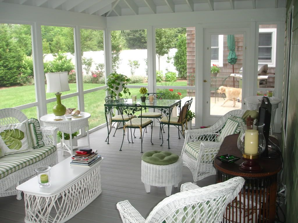 The Classic Maine Waterfront Camp The Screened Porch