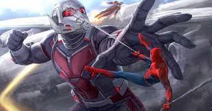 Resultado de imagen para capitan america vs spiderman