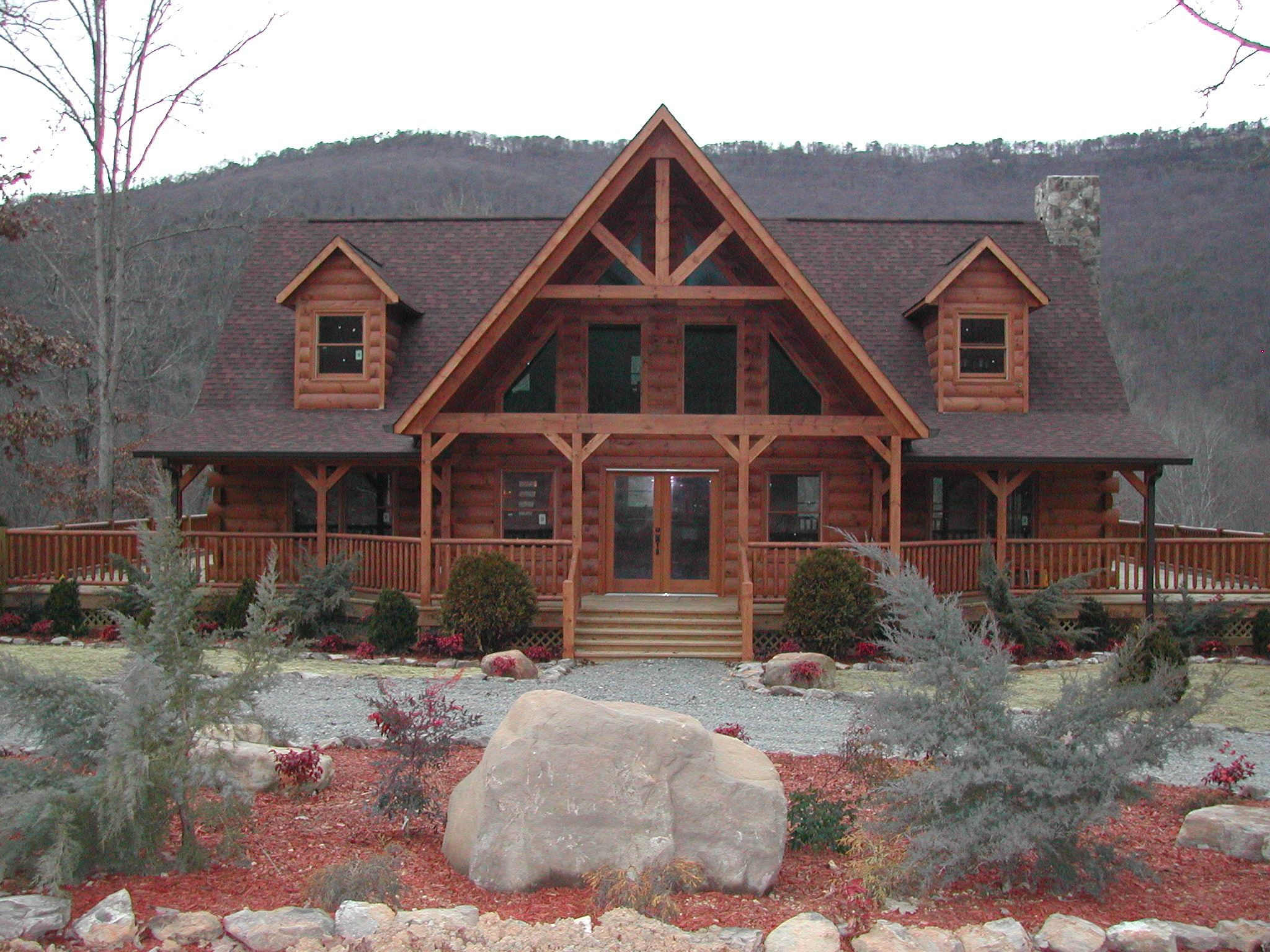 Mountain Homes The Kempisty Timberbuilt Dream Home