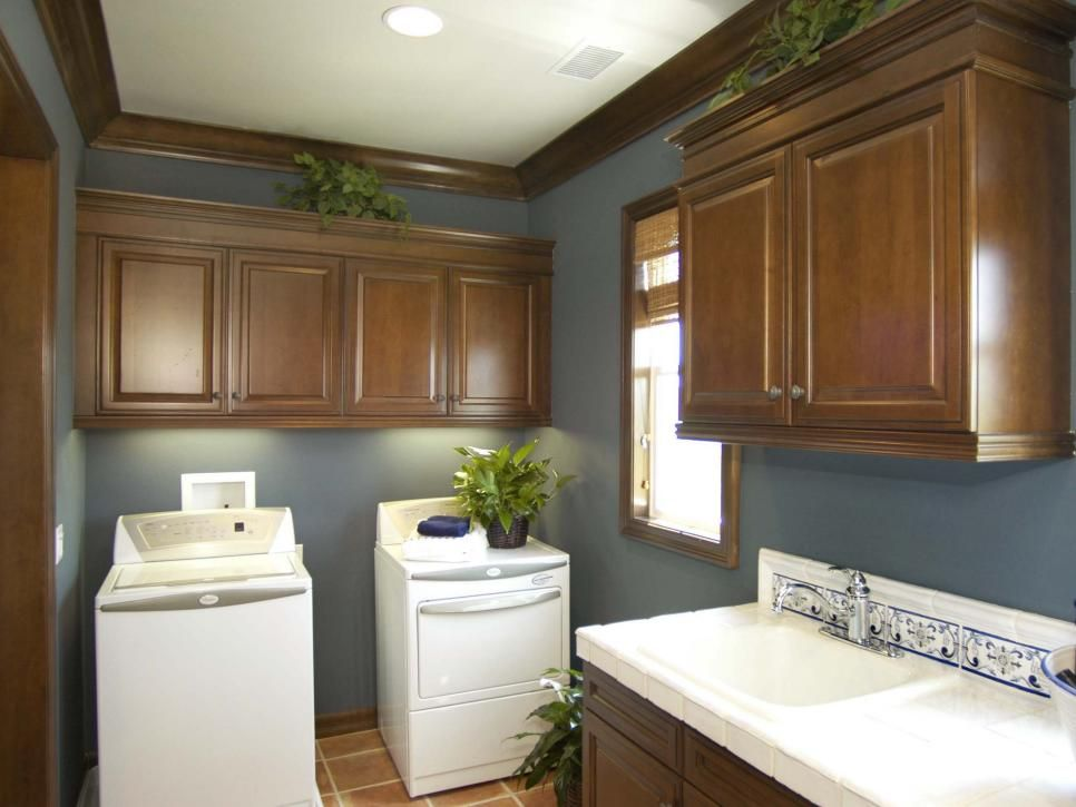 Laundry Room Design Ideas | Home Remodeling - Ideas for Basements, Home Theaters & More | HGTV