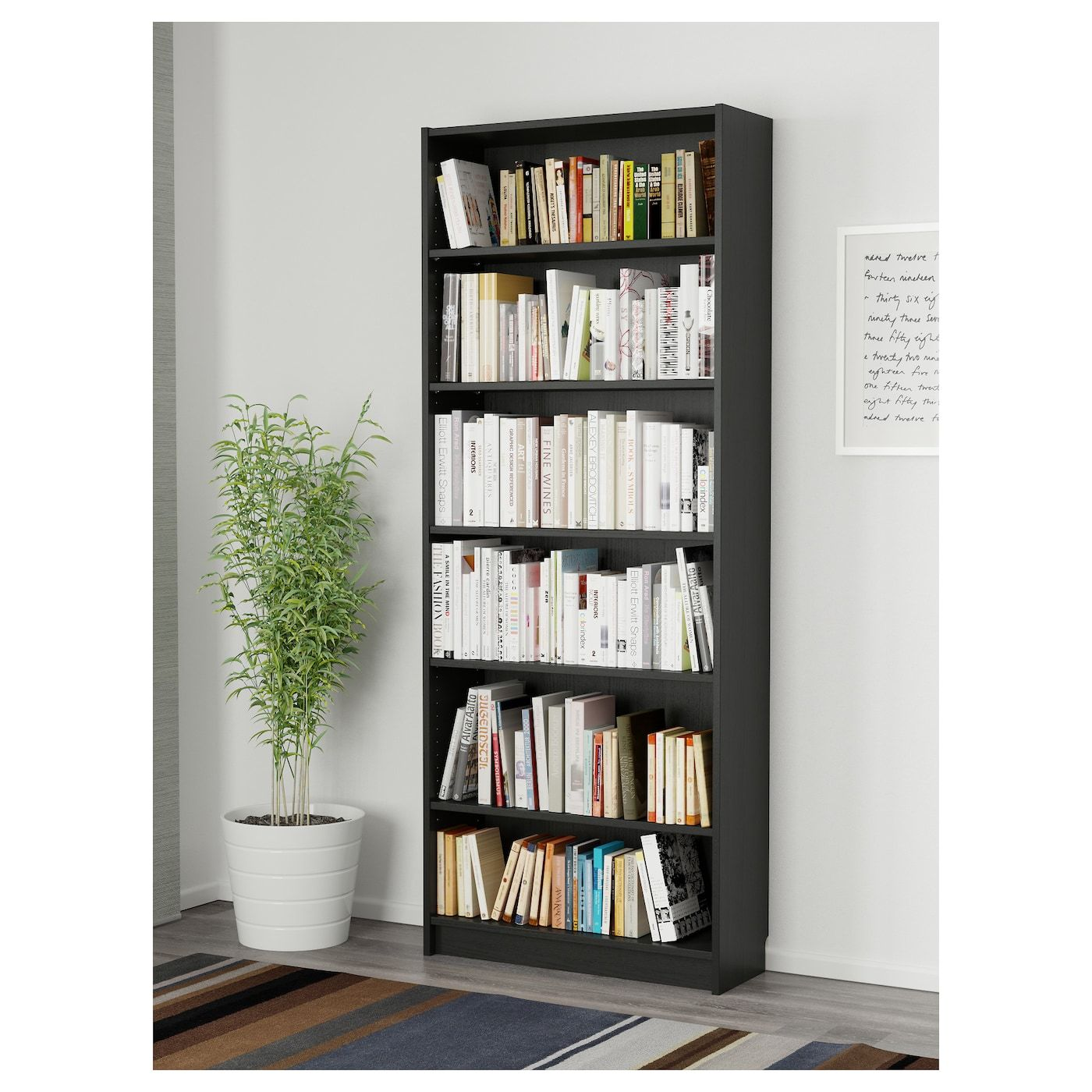 Billy Bookcase Black Brown 31 1 2x11x79 1 2 Billy Bookcase Ikea Billy Bookcase Ikea