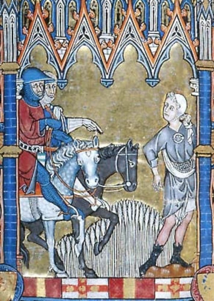 Morgan M.729 Psalter-Hours of Yolande de Soissons  Morgan M.729 Psalter-Hours of Yolande de Soissons Folio 289v Dating 1280-1299 From Amiens, France Holding Institution Morgan Library