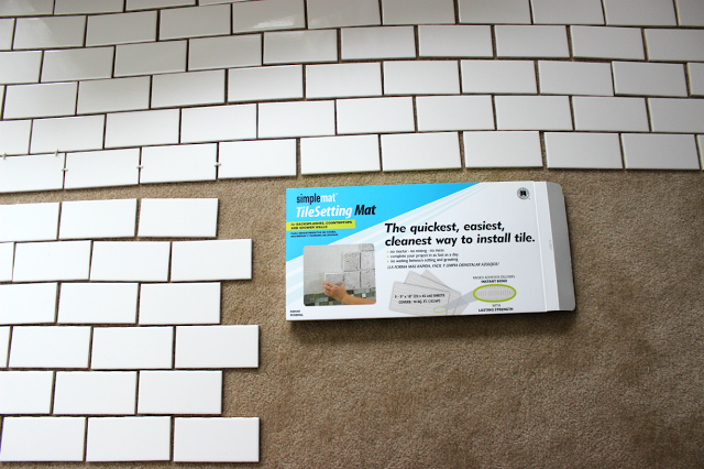 Chic meets Healthy: HOW TO INSTALL SUBWAY TILE BACK SPLASH | Around ...