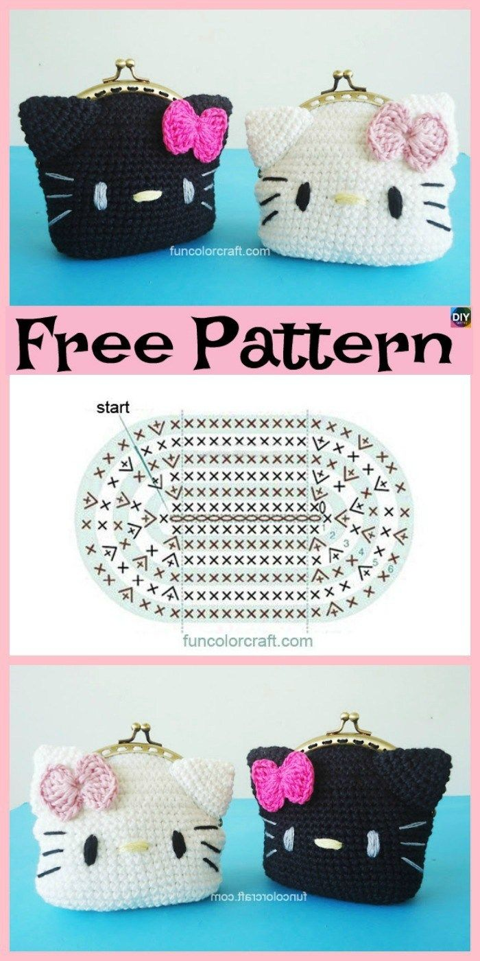35 Exclusive Image Of Hello Kitty Crochet Hat Pattern Artofit