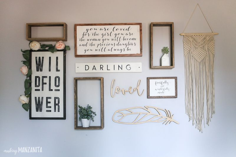 Photo of How To Plan Your Gallery Wall Layout (& Nursery Wall Art Reveal)