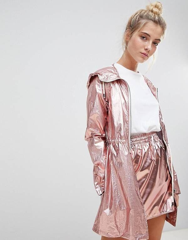 Fekete madeira mintás dzseki KIRA Online Fashion