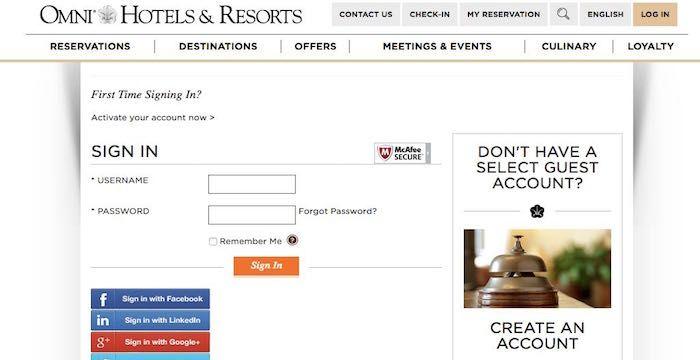 Omni Hotel Bill Pay