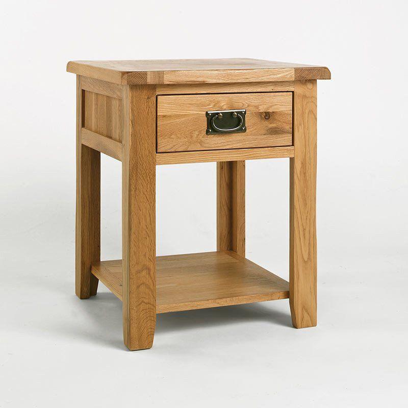 Westbury Reclaimed Oak Lamp Table Bedside Table Ametis Space Shape Oak Lamp Reclaimed Oak Repurposed Lamp