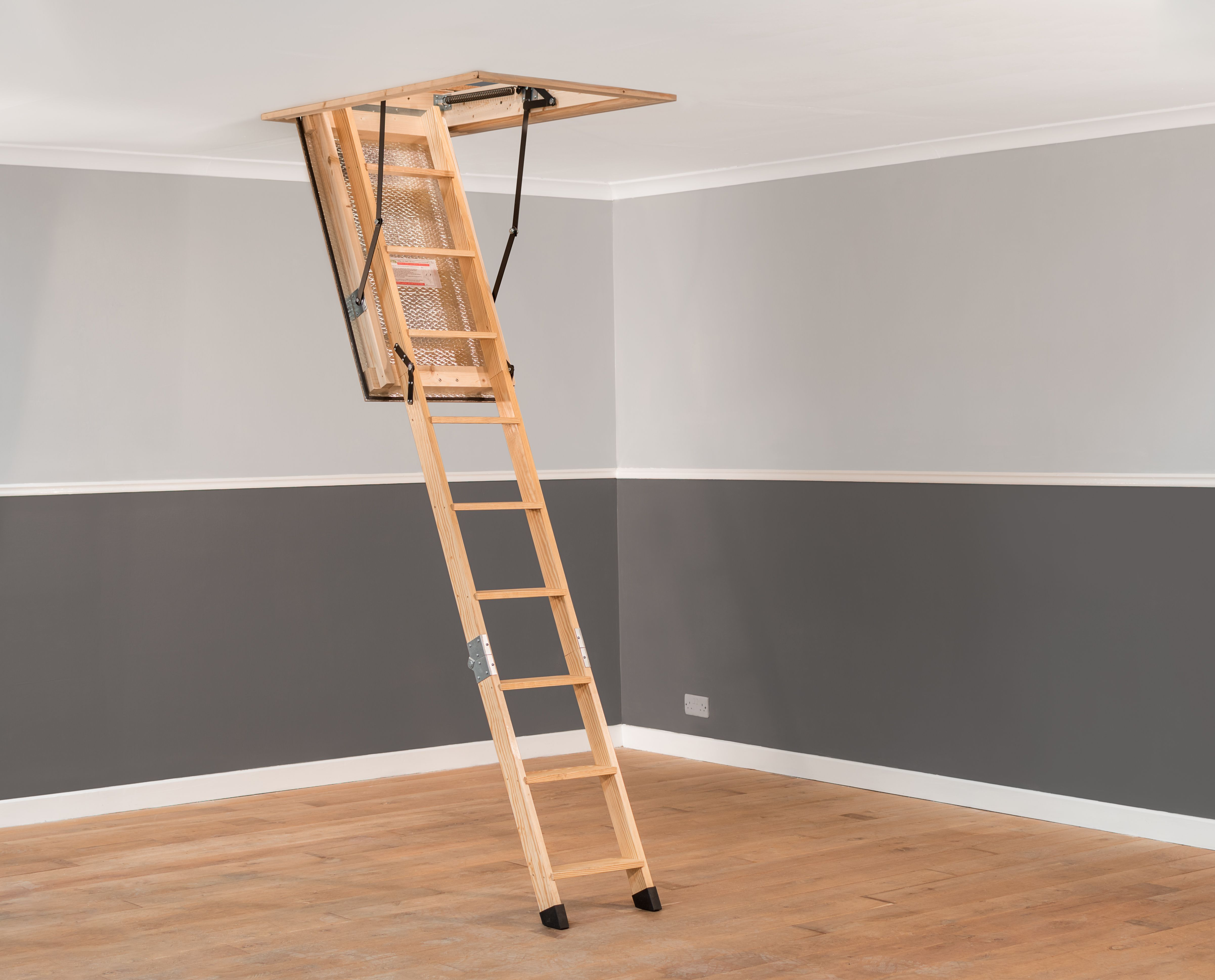 A Stira Folding Attic Stairs Loft Ladder Hand Made In