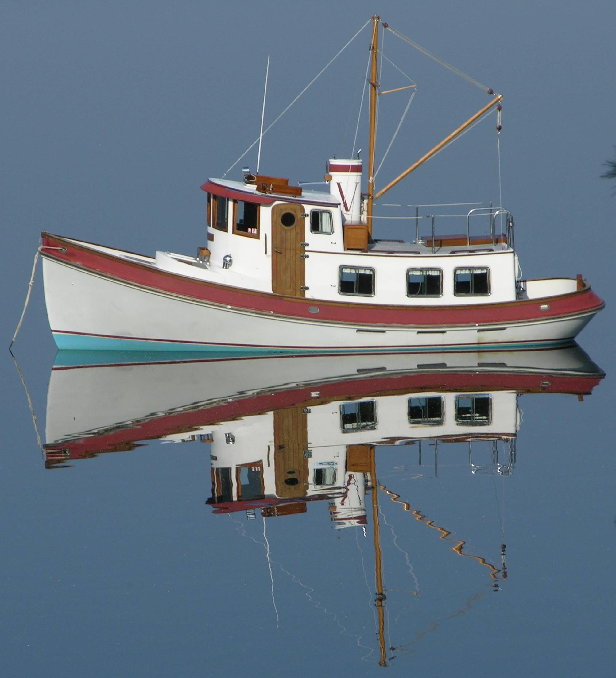 1985 Lord Nelson Victory Tug Power Boat For Sale - www ...